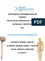 Sistema Nervioso Parasimpático
