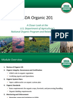 ORGANIC FOOD BASIS BY THE USDA