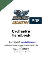 orchestra handbook pt