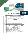Programa General Xviii Conades - Oficial Final