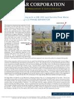 Agar OW201 and Coriolis Meter Appl 12