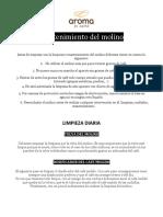 Manual de Mantenimiento y Limpieza - Molinos de Cafe.docx