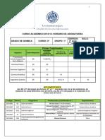 Horario 2 Grado Quimica 2013-14 Version 8