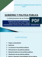 Presentacion - Gobierno y Politica Publica. (1)