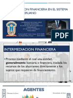 Intermediación Financiera en El Sistema Financiero Peruano
