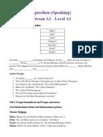 Sprechen A1 PDF