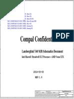 Compal La-b131p r1.0 Schematics
