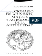Santiago Montero - De Adivinos, Magos y Astrólogos de La Antigüedad