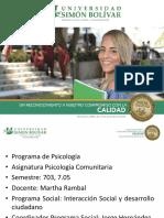 Socializacion Practicas Comunitaria INSTENALCO