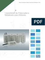 WEG Capacitores de Polipropileno 50071283 R00 Catalogo Portugues