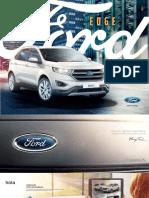 Catalogo Nuevo Ford Edge