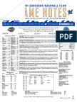 8.11.17 vs. TNS Game Notes