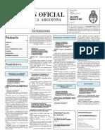 Boletin Oficial 02-08-10 - Tercera Seccion