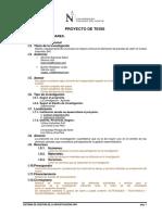 Proyecto de Investigación 20151