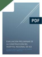 Semidetallado Del Hospital de Ica