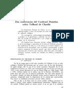 Dialnet-DosConferenciasDelCardenalDanielouSobreTeilhardDeC-1153668.pdf