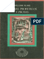 Blake, William - Poemas Profeticos y Prosas