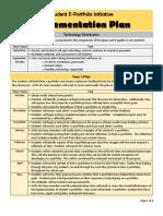 ecgarcia  implementation plan
