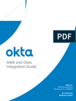 AWS and Okta Integration Guide