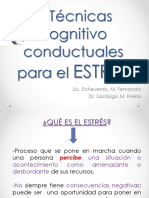Técnicas Cognitivo Conductuales Para El Estrés[964]
