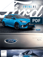 Ford Focus RS Catalogo