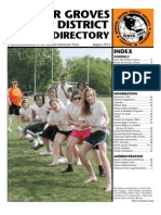 Webster School District Directory 2010-11