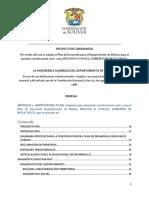 Plan de Desarrollo Bolivar Avanza 2016- 2019