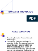 2-Teoría de Proyectos
