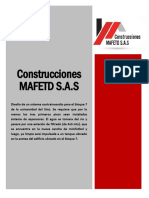 Licitacion Construcciones Mafetd s.a.s - Sistema Contra Incendios Bloque 7 Universidad Del Sinu Elias Bechara Zainum - Moteria%2c Cordoba