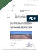 Estudio de Suelos - UNS Campus Palihue Edificios DCIC y DD - ES N° 1625 - Informe N° 1