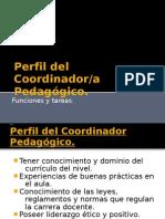 Perfil Del Coordinador Funciones y Tareas.