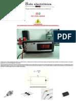 Test Zener (0-50v)