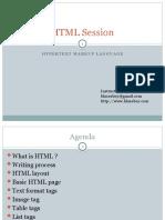 HTML Session
