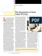 LTL (5) 6.20.2015. Essentials of Legal Writing