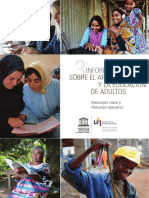 3er Informe Mundial sobre el Aprendizaje y la Educación de Adultos (GRALE III)