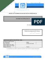 07-DIAGNÓSTICO-Informe Psicopedagógico Para Centros Educativos