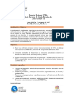 Agenda Reunión Regional EPJA