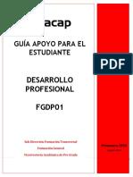Guía Para El Estudiante Desarrollo Profesional FGDP01