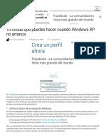 10 Cosas Que Puedes Hacer Cuando Windows XP No Arranca