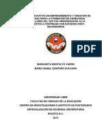 Modulo Educativo en Emprendimiento y Creación de Empresas