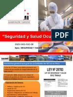 Seguridad y Salud Ocupacional by SASMI PERÚ