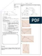 Relações Métricas Triangulo Ret. Atividades