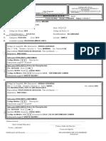 04-Formulario Disposición de Alta DP-01 en BLANCO