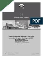 AGC-3 Operators Manual 4189340525 ES