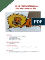 1-ACTIVIDAD-DE-PSICOMOTRICIDAD-HOY-VOY-A-CAZAR-UN-LEON.docx
