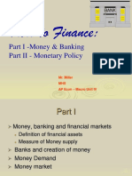 Money Banking Monetary Policy