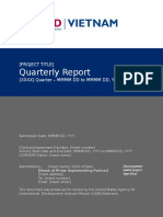 Vietnam Quarterly Reporting Standard Format for IPs FINAL