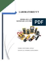 Laboratorio N° 5 -ALTERNA