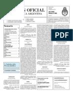 Boletin Oficial 06-08-10 - Segunda Seccion