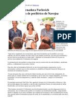 03-08-17 Entrega Gobernadora Pavlovich modernización de periférico de Navojoa. -Canal Sonora